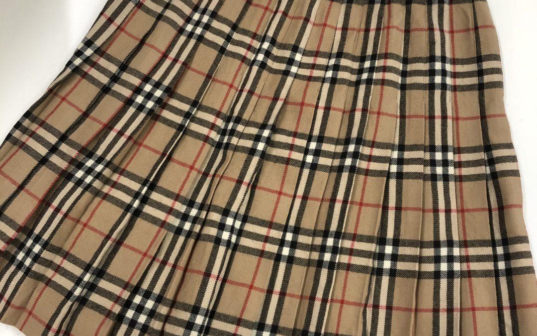 バーバリー ノバチェック スカート