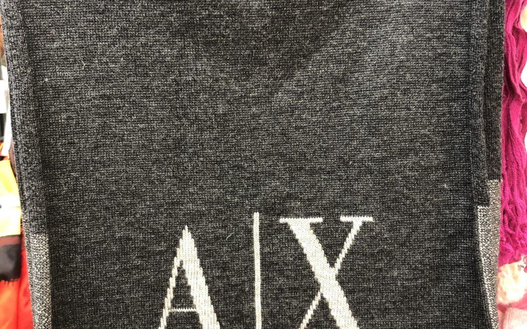 A X ARMANI EXCHANGE マフラー